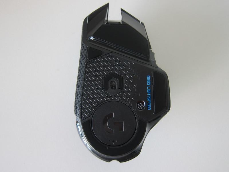 Logitech G502 Lightspeed - Bottom