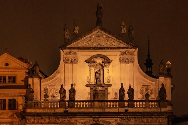 St. Salvator Church at Night