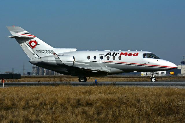 N823AM (Air Med)