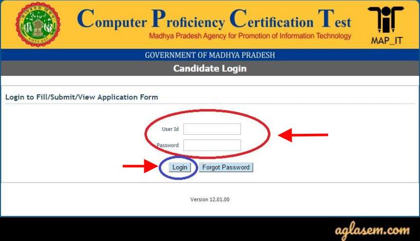 MP CPCT Admit Card 2020
