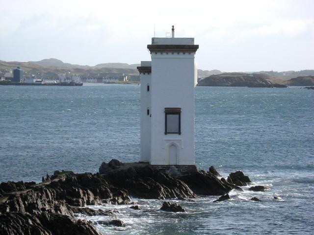 Port Ellen Lighthouse, Islay, Scotland
