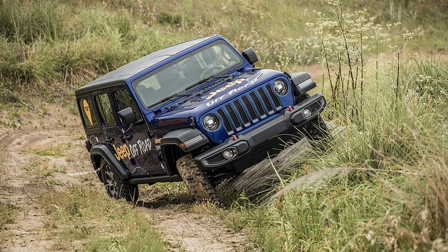 Contacto Jeep Wrangler y Wrangler Unlimited (JL)