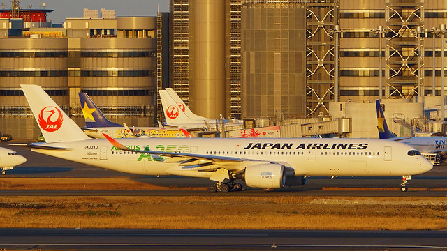 Airbus A350-941, JA03XJ, Japan Airlines