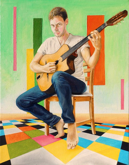 Le joueur de guitare / The guitar player