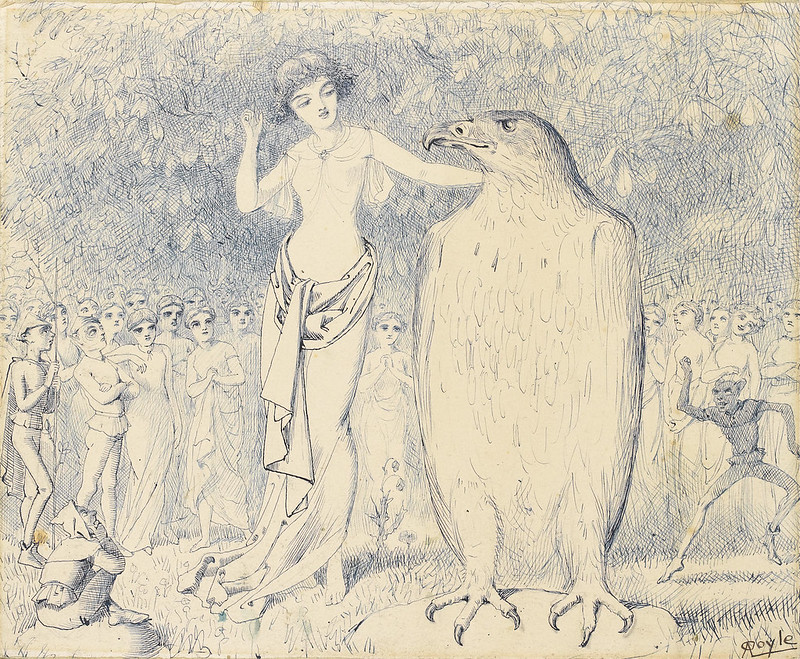Charles Altamont Doyle - Please don't tell the singing birds