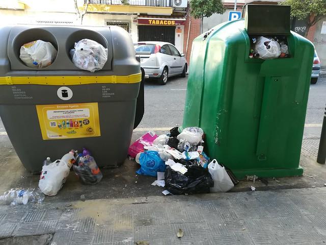 Falta de limpieza en Sevilla