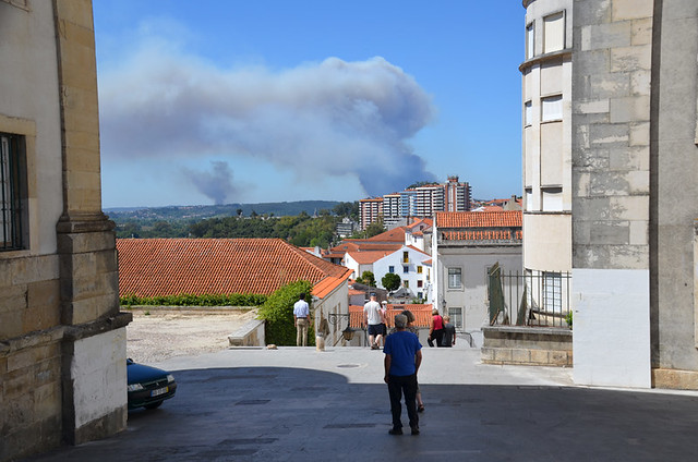 Forest fires from Coimbra, Portugal