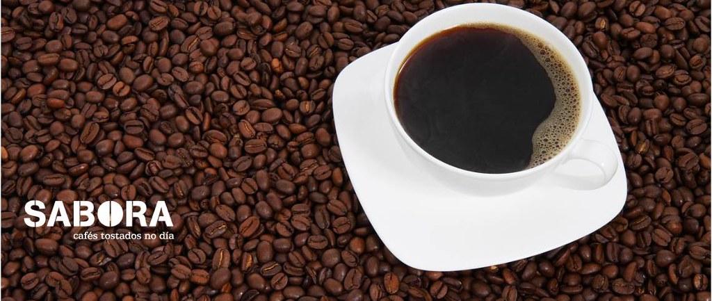 Café del grano a la taza