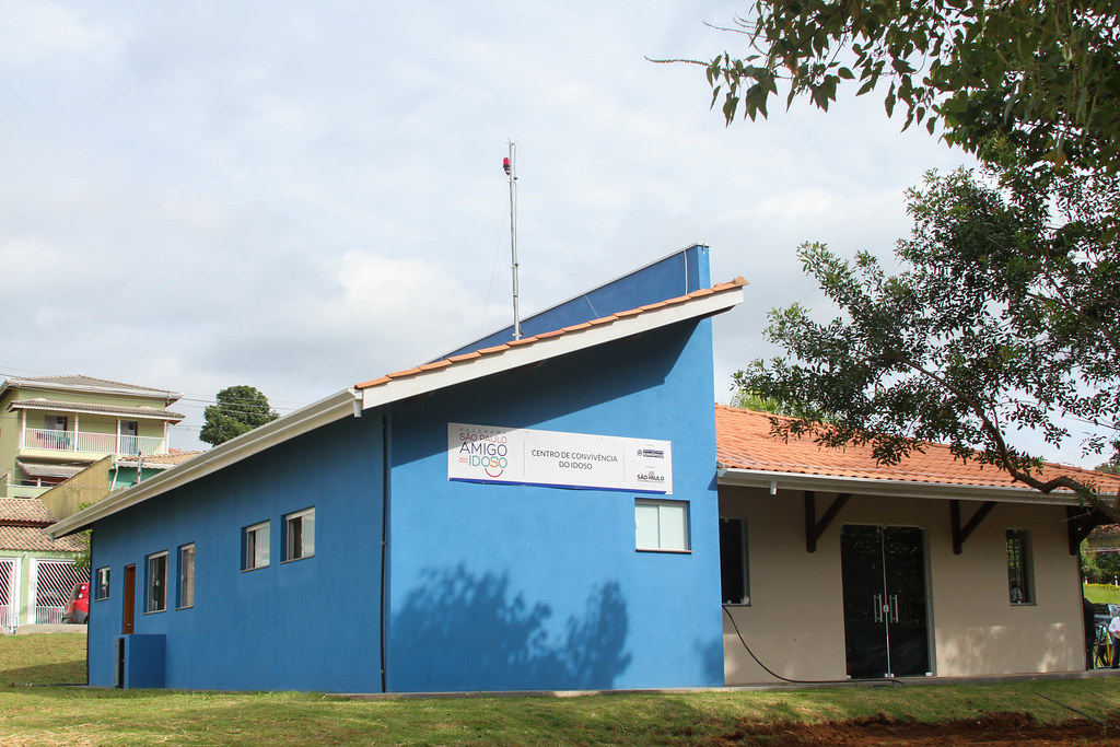 Inauguração CCI - Centro de Convivência do Idoso