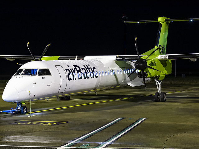 Air Baltic | Bombardier DHC-8-402Q Dash 8 | YL-BAH