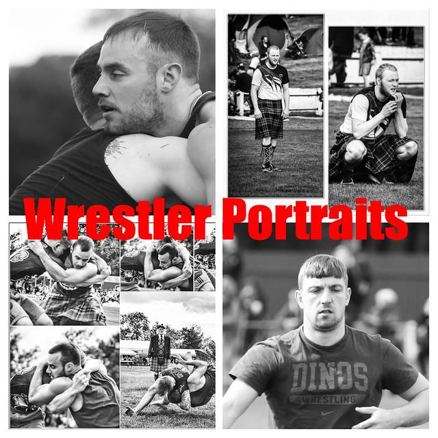 Wrestler Portraits