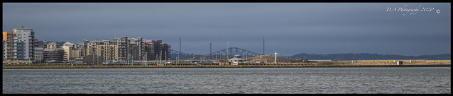 Coastal View From Newhaven Harbour Edinburgh DSC_4828