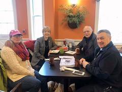 Rep. Zawistowski hosted a coffee & conversation legislative update in Suffield
