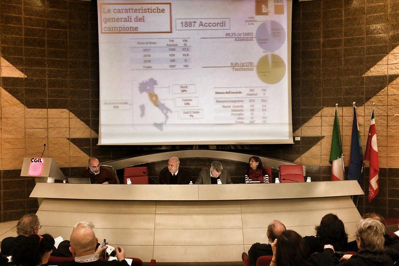 Iniziativa Cgil e Fdv 'Secondo rapporto sulla contrattazione di 2° livello'