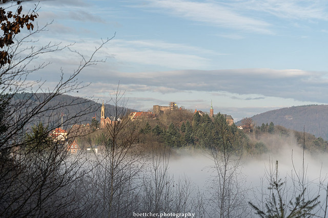 Dilsberg in the Clouds - January 2020 IV