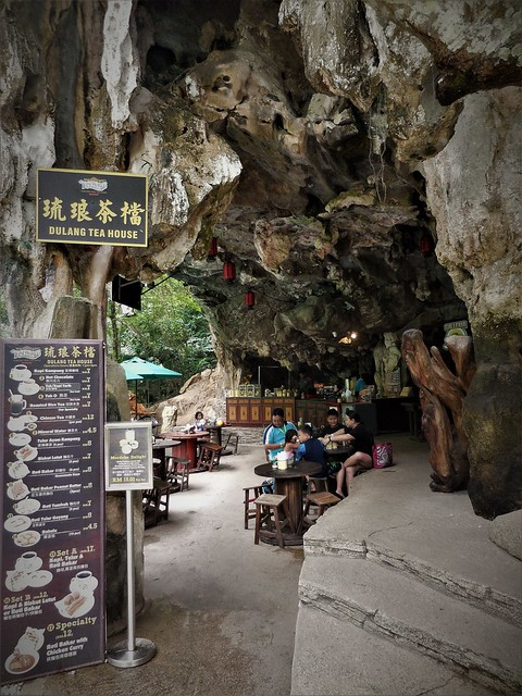 tea house in a cave