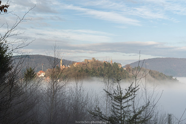 Dilsberg in the Clouds - January 2020 V