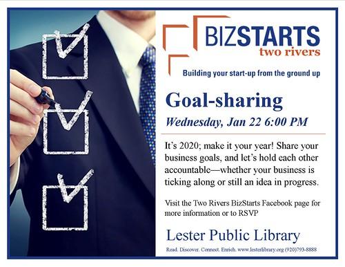 BizStarts Goal Sharing