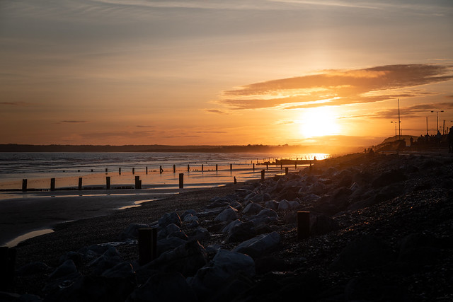 Youghal Beach Sunset