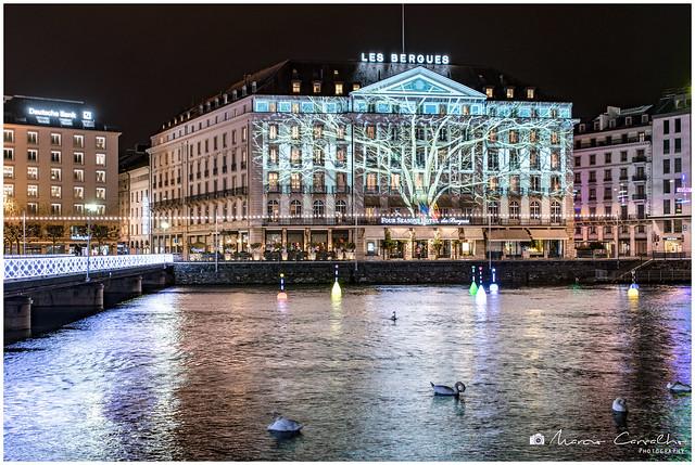 My Lovely Geneva - Seasons - Projection created by Yan Nguema - D85_0177
