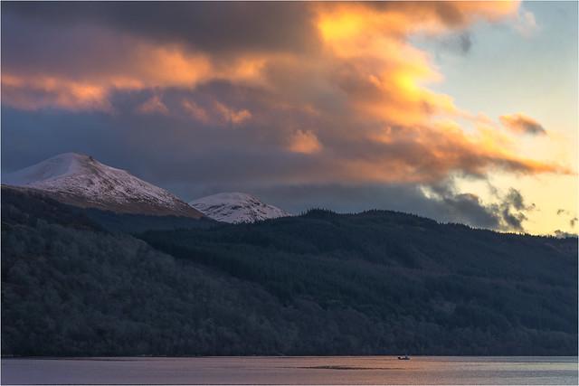 Loch Long in the evening #1
