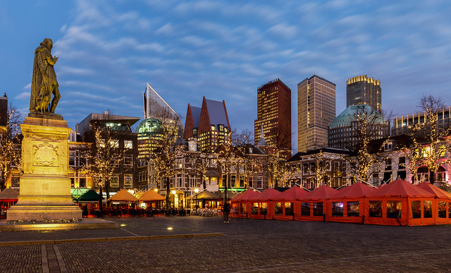 Big city lights / The Hague 2020
