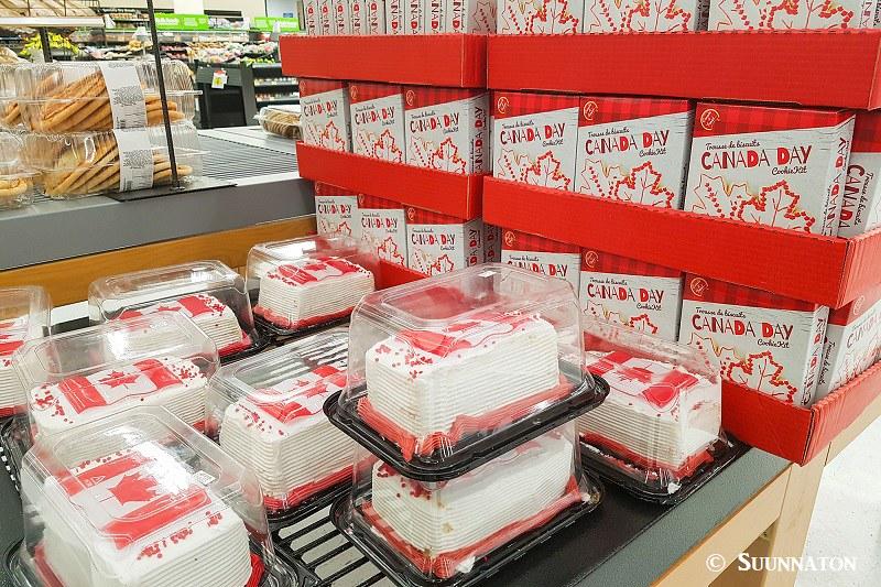 Canada 150 leivokset
