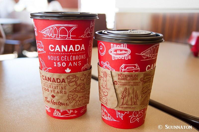 Canada 150 kahvikupit, kanadalainen stereotypia