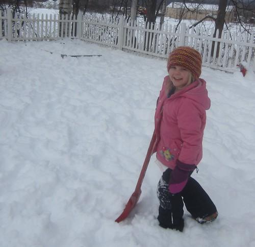 happy shoveling