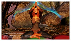 Meditation Hands particles by Venus Adored -GIFT-