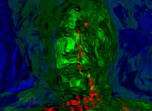Bildschichten Selbstportrait 02