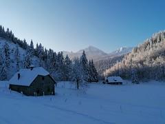 Skitour Tannschwärze am Hengstpass