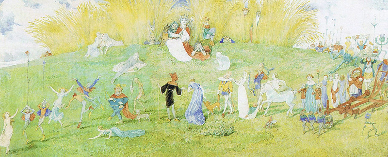 Charles Altamont Doyle - Fairies
