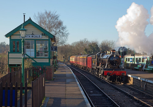 4953 PITCHFORD HALL North Weald - Epping & Ongar Railway | by KING COBRA 92