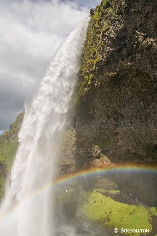 Seljalandsfoss, sateenkaari