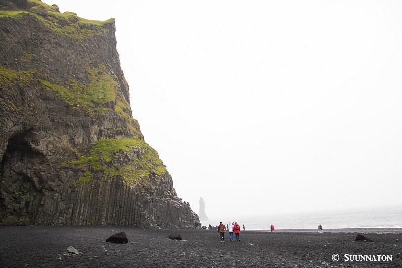 Reynisfjara, ranta, Islanti yhdessä päivässä