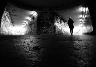 The underground.