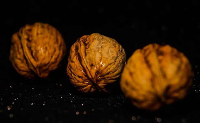 Three nuts