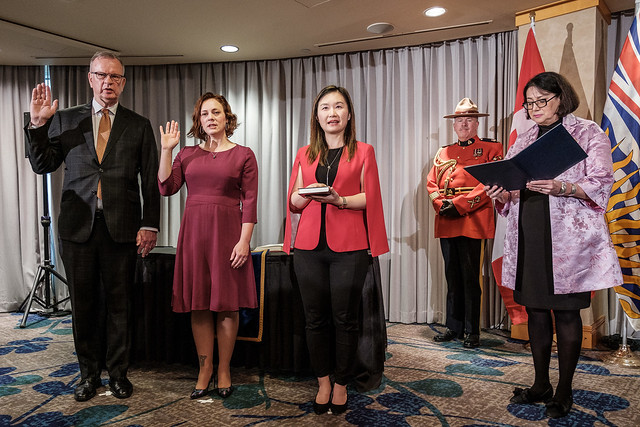 Premier Horgan shuffles cabinet