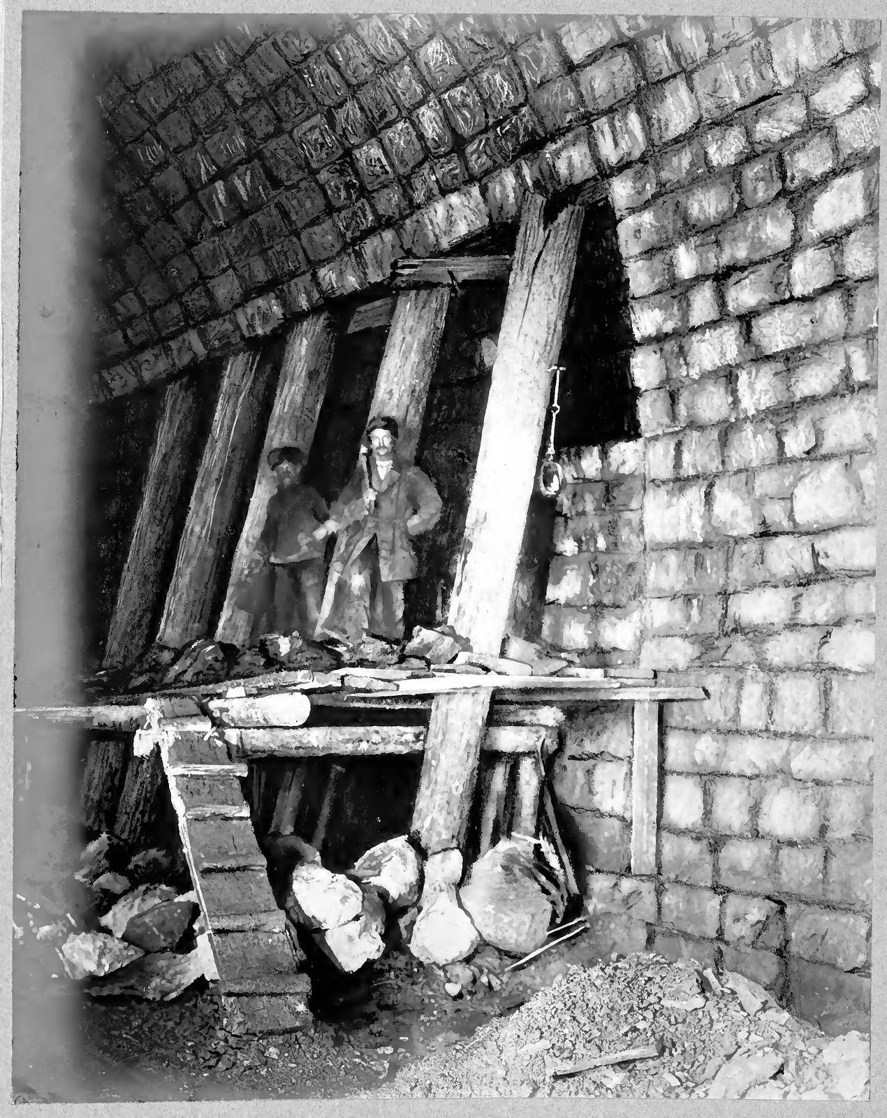 27. Внутренний вид строительства свода тоннеля