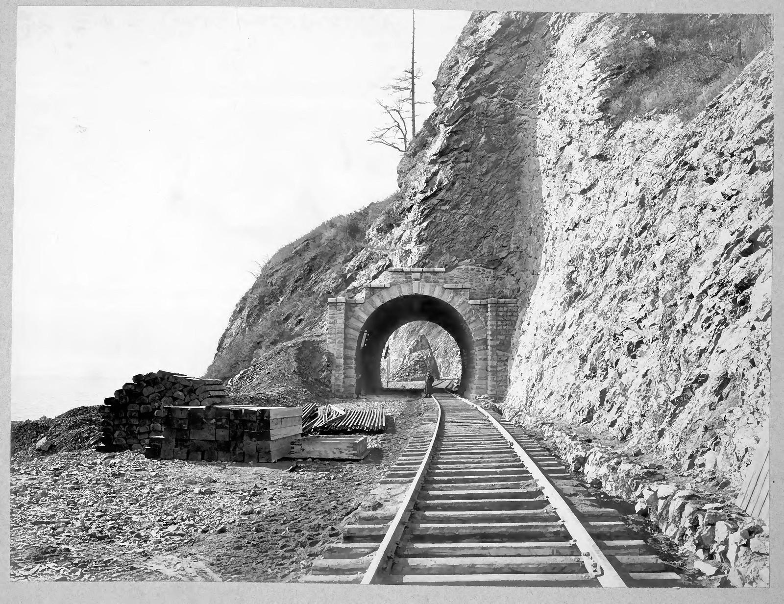 20. Тоннель №13 длиной 14,8 саженей на 36 версте