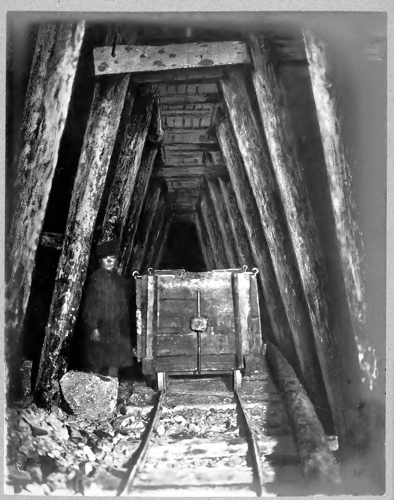10. Выломка штроссы под сводом тоннеля