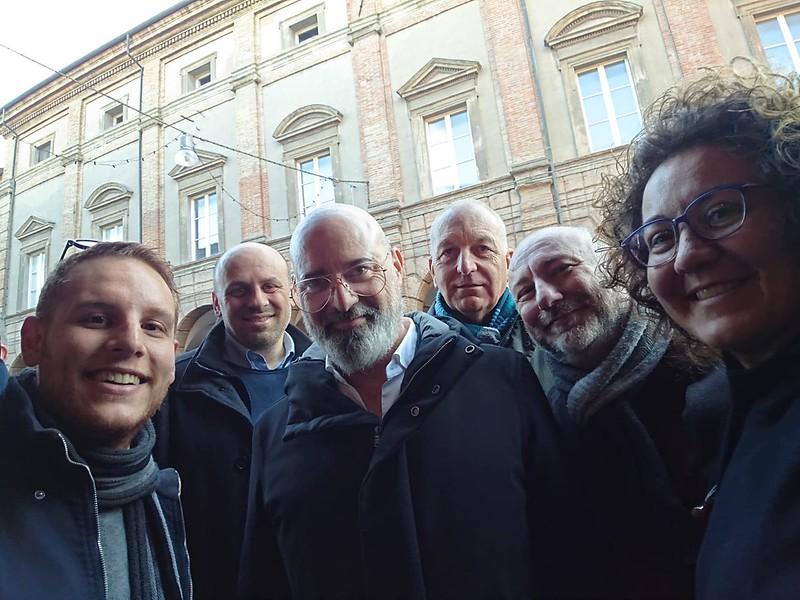 Ieri a Castel Bolognese incontro con il candidato Presidente per il centrosinistra Stefano Bonaccini