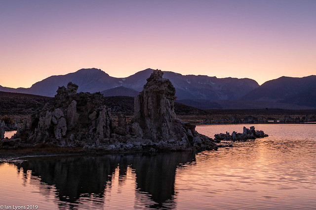 Sunset Afterglow, Mono Lake