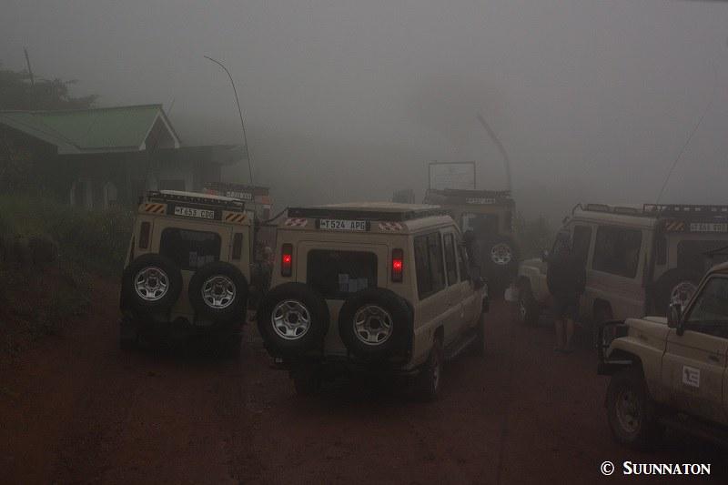 Ngorongoro, pilvessa