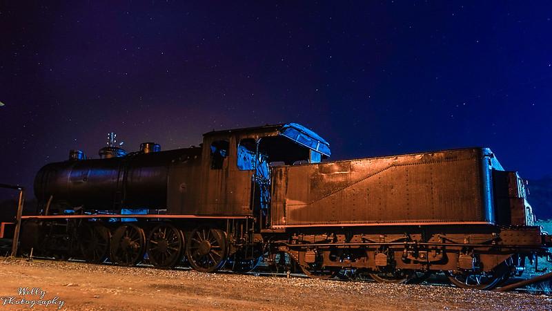 Maquina de tren antigua en Maquinas y vehículos49425713147_78dafb7d02_c