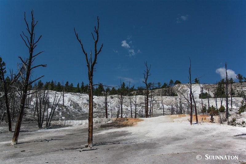Kamerakalusto Kalliovuorille ja Yellowstoneen