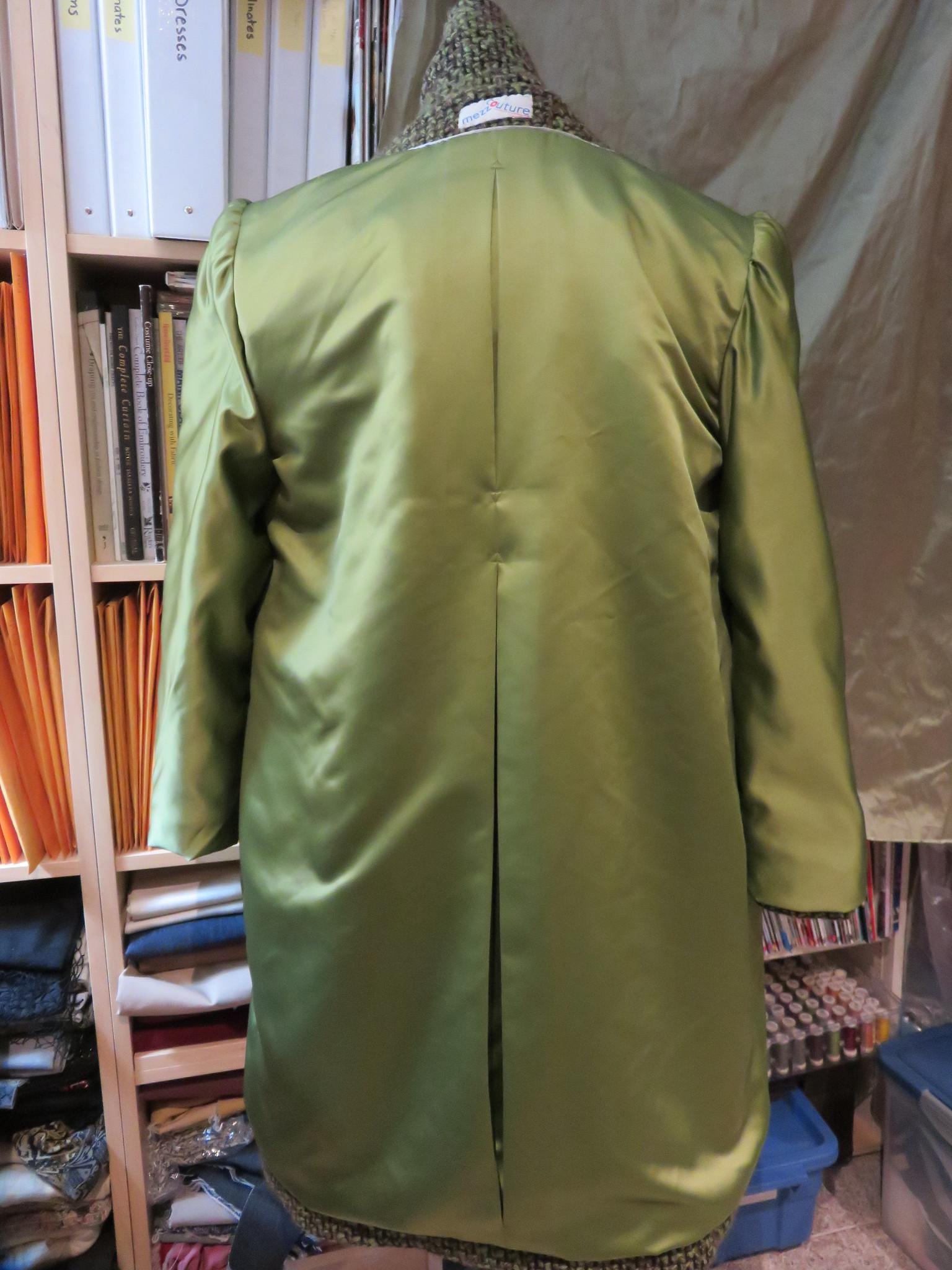 coat re-do lining back