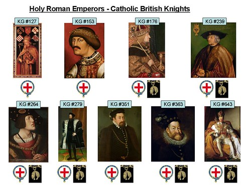 Holy Roman Emperors Knights of the Garter v2 | by arthur.strathearn