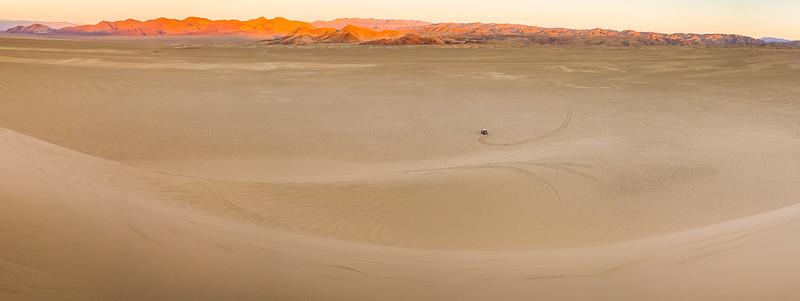 Dumont Dunes Staging Area